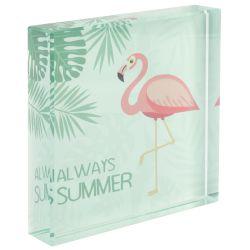 eaa977ffdc7 Sentio Стъклена украса Flamingo