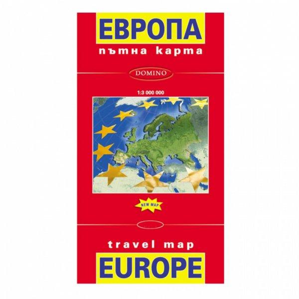 Domino Ptna Karta Na Evropa Sgvaema Ptni Karti
