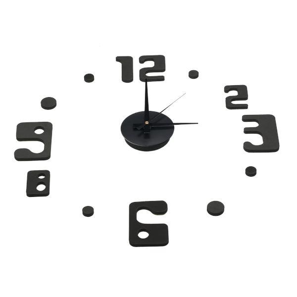 Sentio - Стенен часовник DIY черен - Часовници 355bcddd41a